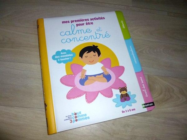 Livre pour enfants Calme et concentré