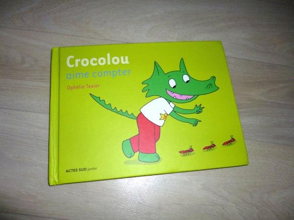 Crocolou aime compter