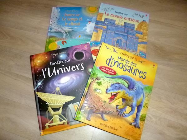 Livres pour enfants Fenêtre sur