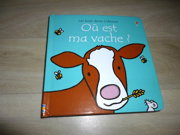 Livre pour bébés Où est ma vache