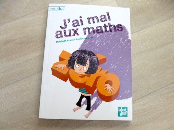 Roman pour enfants J'ai mal aux maths