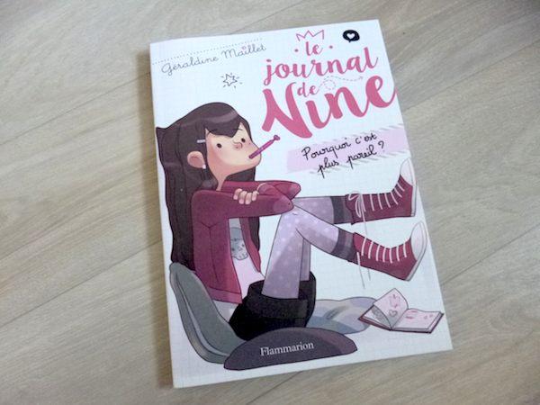 Roman pour enfants Le journal de Nine