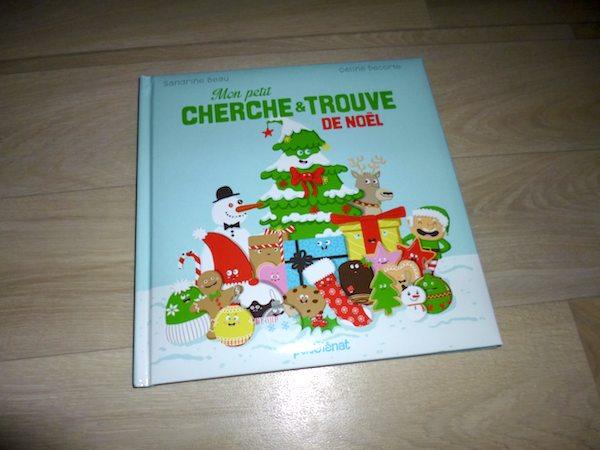 Livre pour enfants Cherche et trouve Noel