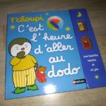 T'choupi dodo