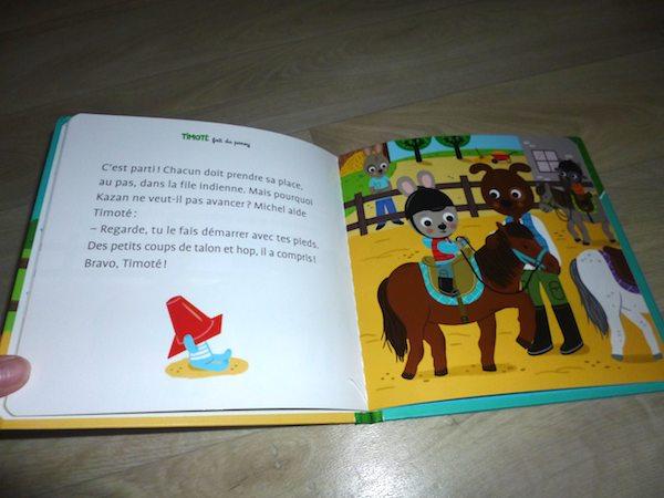 Timoté fait du poney 1