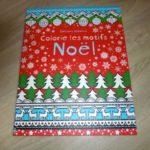 Colorie les motifs Noël