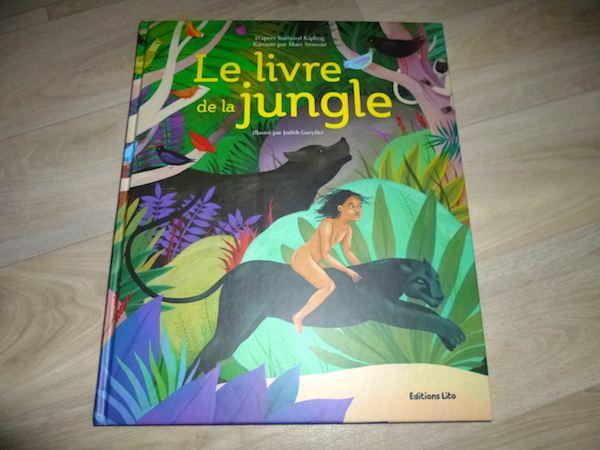 Conte pour enfants Le livre de la jungle