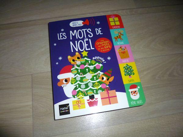 Livre sonore Les mots de Noel