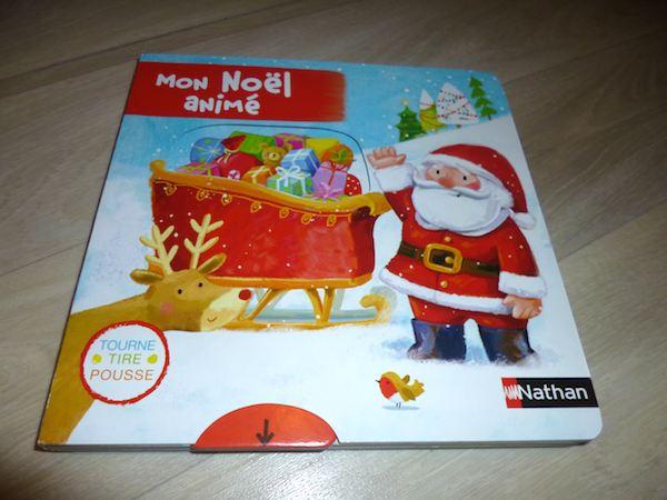 Livre pour bébés Mon Noël animé