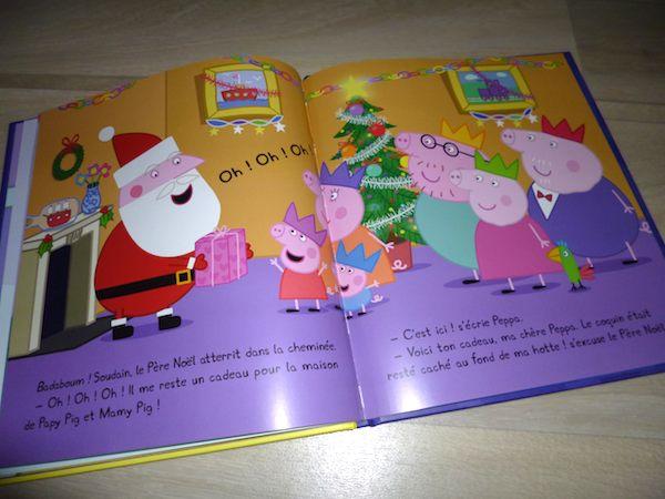 Histoire pour enfants Peppa fête Noël 2