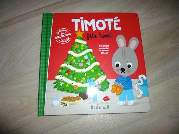 Histoire pour petits Timoté fête Noël