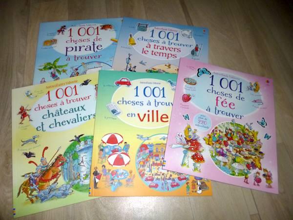 Livres pour enfants 1001 choses à trouver