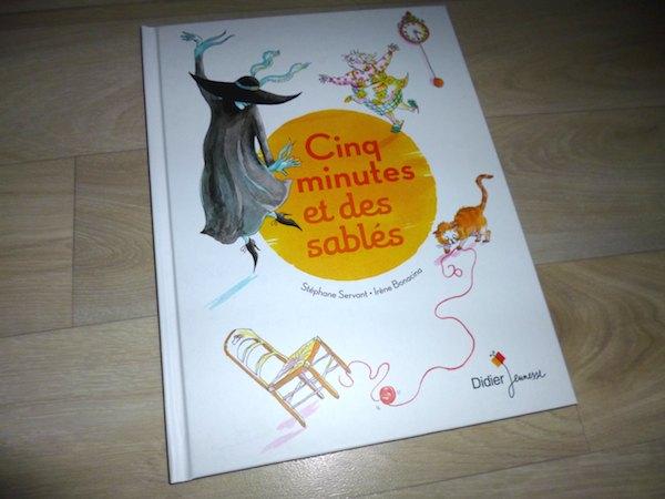 Histoire pour enfants Cinq minutes et des sablés