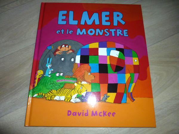 Histoire pour enfants Elmer et le monstre