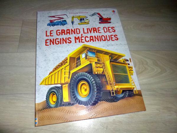 Livre pour enfants Engins mécaniques