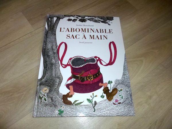 Livre pour enfants L'abominable sac a main