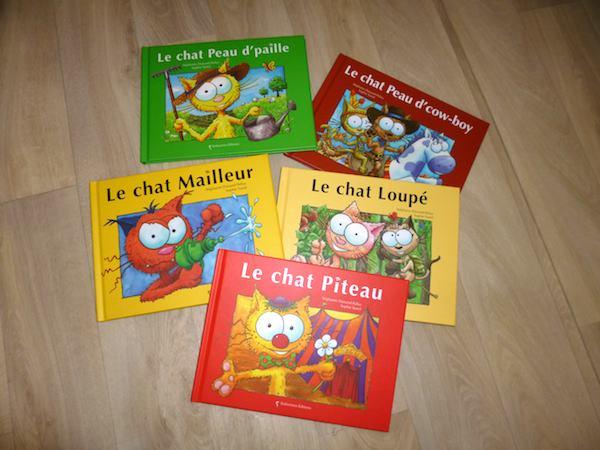 Histoires pour enfants Chats Balivernes
