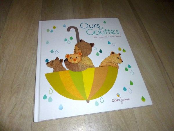 Histoire pour enfants Ours et Gouttes