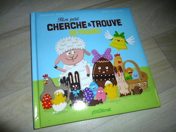 Livre pour enfants Cherche et trouve de Pâques
