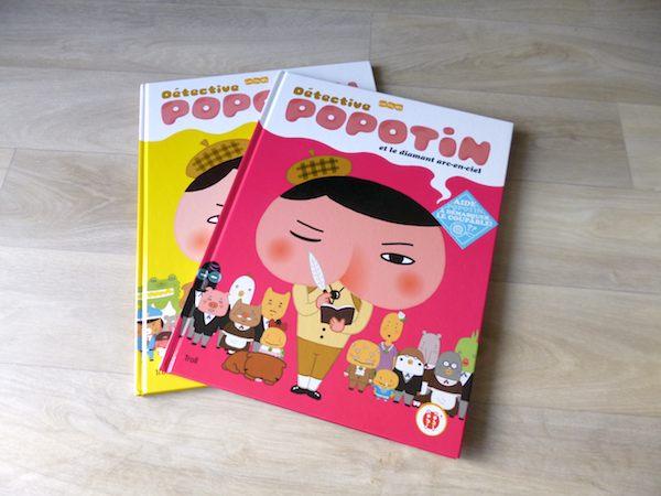 Livre pour enfants Détéctive Popotin