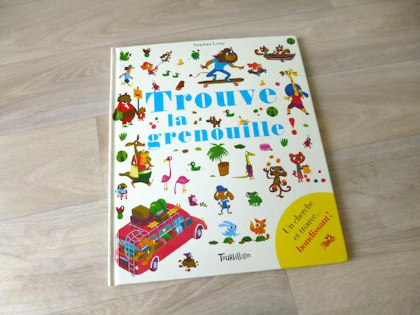 Livre pour enfants Trouve la grenouille
