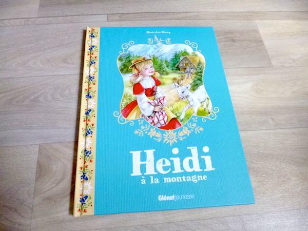 Histoire pour enfants Heidi à la montagne
