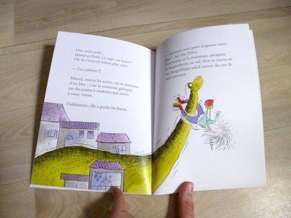 Livre pour enfants Libérez les dinos 2