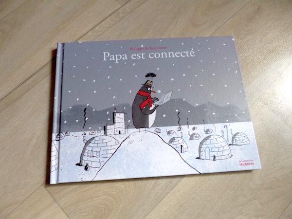 Histoire pour enfants Papa est connecté