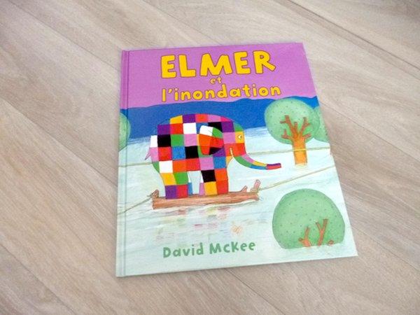Histoire pour enfants Elmer et l'innodation