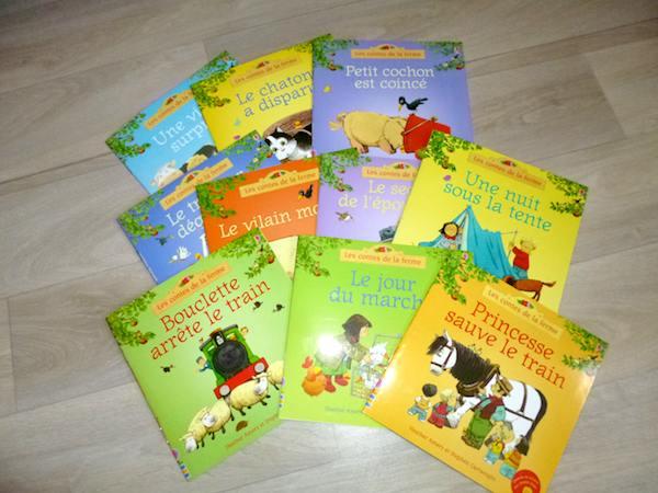 Livres pour enfants Ferme Usborne
