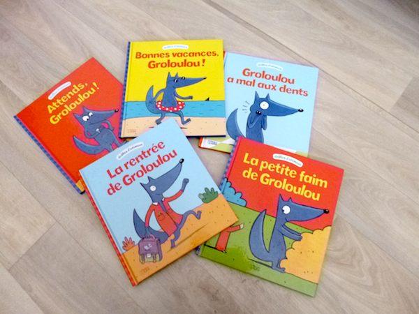 Livres pour enfants Groloulou