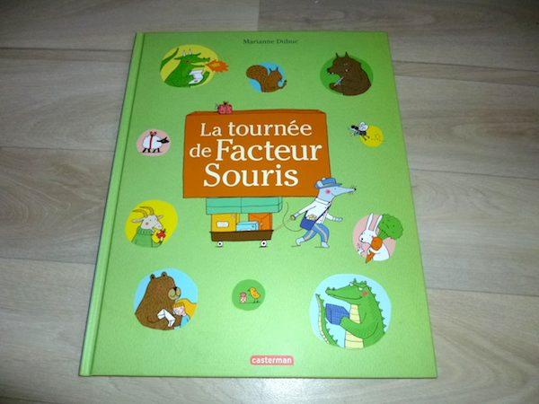 Livre pour enfants La tournée de Facteur Souris