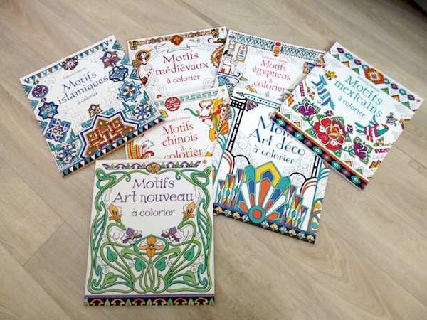 Livres de coloriages Motifs à colorier