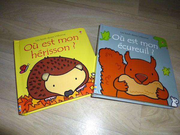 Livres pour bébés Tout doux Usborne