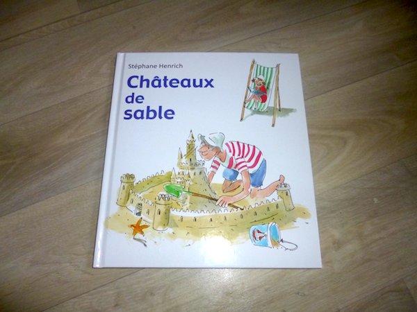 Livre pour enfants Chateaux de sable