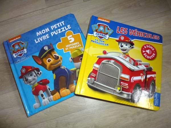 Livres pour enfants Paw Patrol