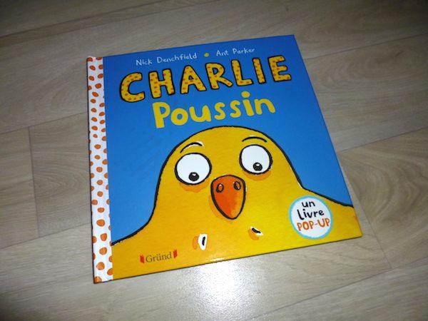 Livre pop-up Charlie Poussin