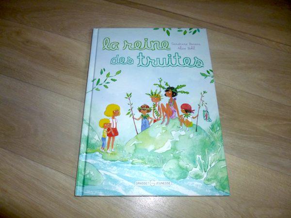 Histoire pour enfants La reine des truites