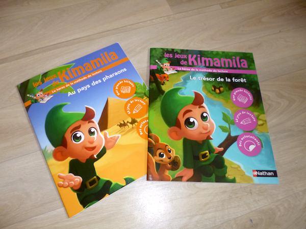 Cahiers de vacances Les jeux de Kimamila