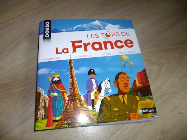Documentaire pour enfants Les tops de la France