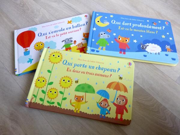 Mon Livre De Bebe Usborne Liyah Fr Livre Enfant Manga