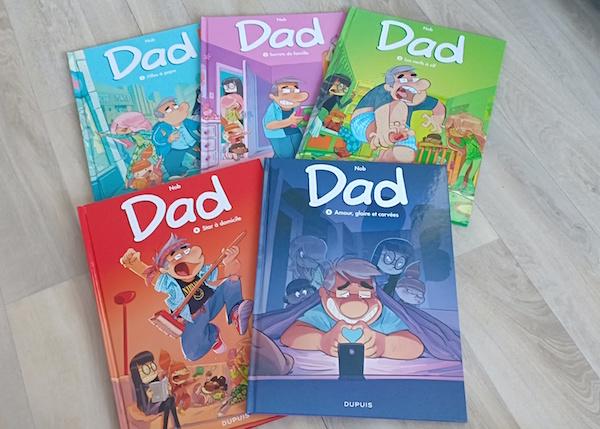 Bandes Dessinees Dad Liyah Fr Livre Enfant Manga