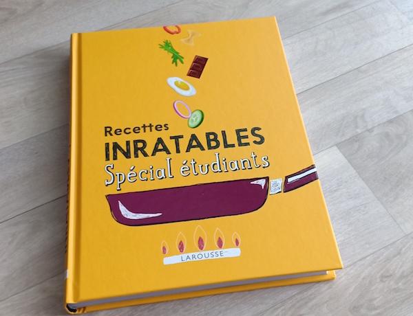 Recettes Inratables Special Etudiants Liyah Fr Livre