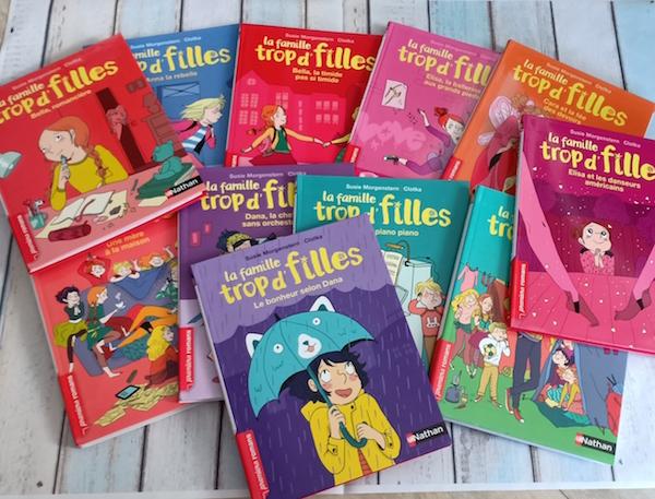 La Famille Trop D Filles Liyah Fr Livre Enfant Manga