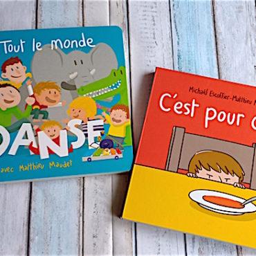 Livres Pour Enfants : Mathieu Maudet