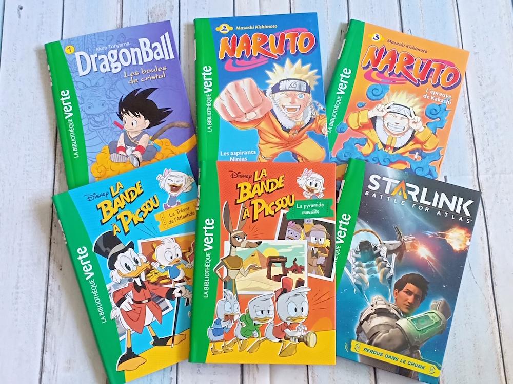 La Bibliotheque Verte Liyah Fr Livre Enfant Manga