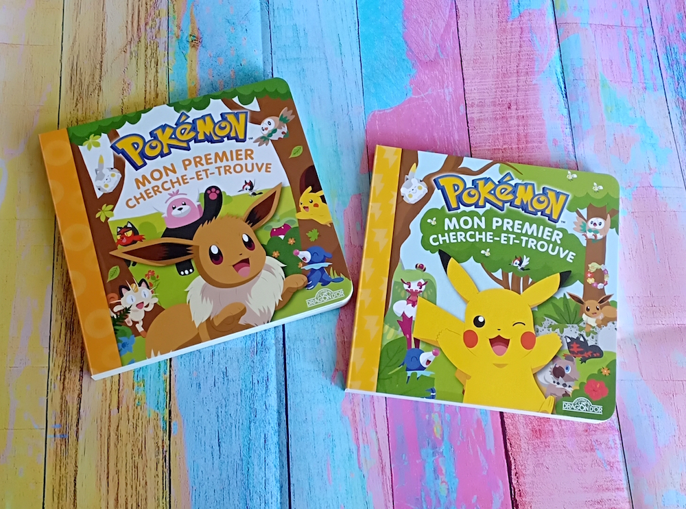 Pokemon Mon Premier Cherche Et Trouve Liyah Fr Livre
