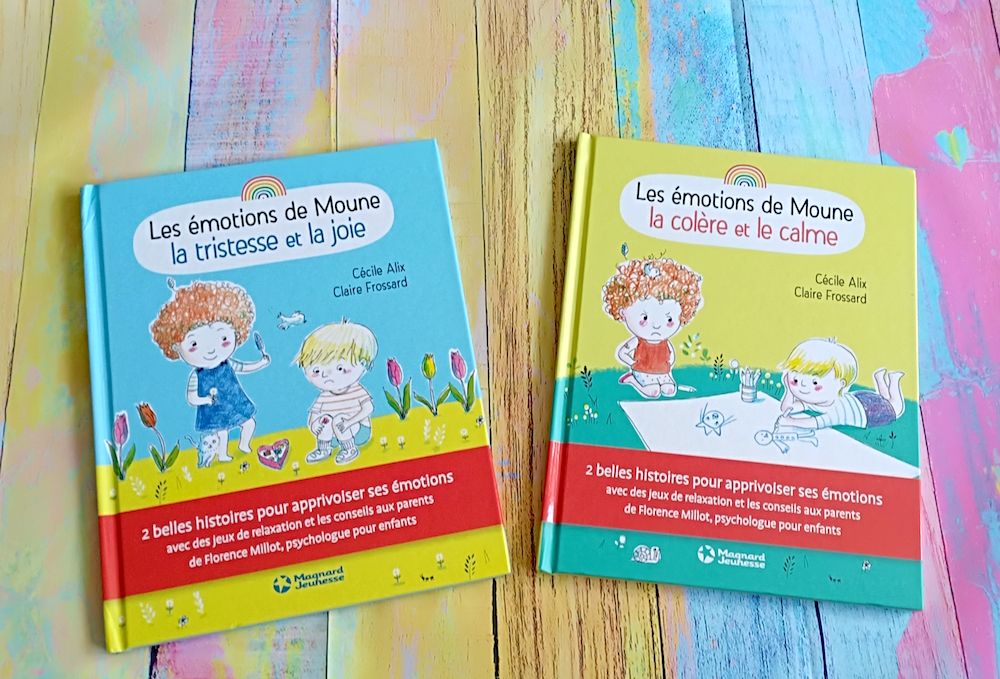 Les Emotions De Moune Liyah Fr Livre Enfant Manga