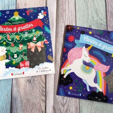 Cartes A Gratter : Noël et Licornes