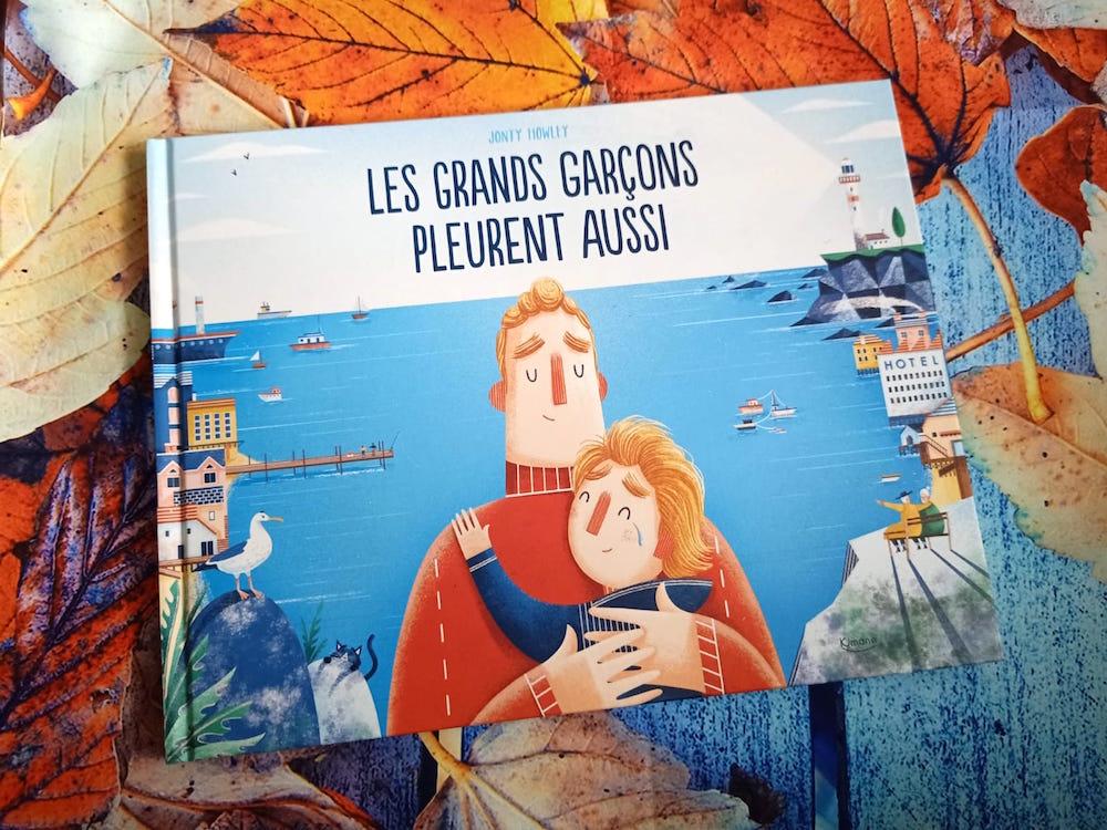 Les Grands Garcons Pleurent Aussi Liyah Fr Livre Enfant
